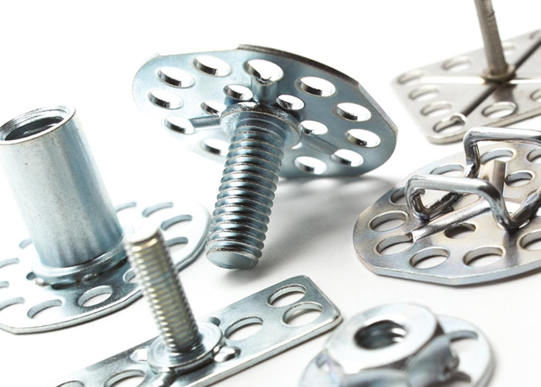 Perforated fasteners 10